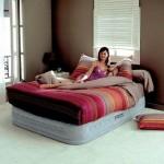 Кровать надувная в Ашане
