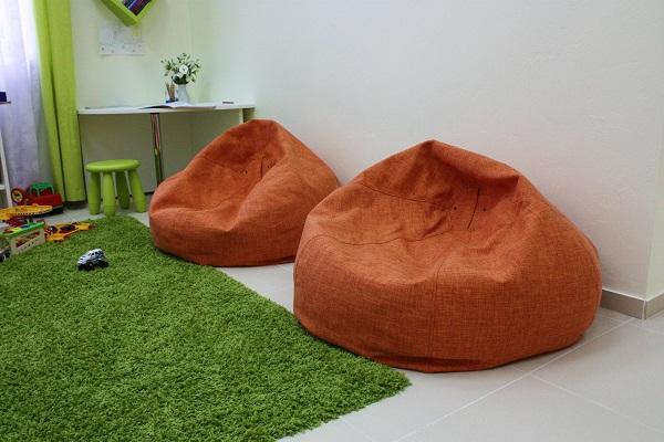 Кресло-мешок в Ашане